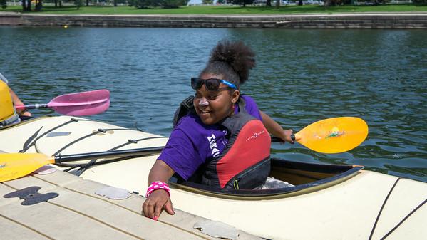 Kayaking with LPBC