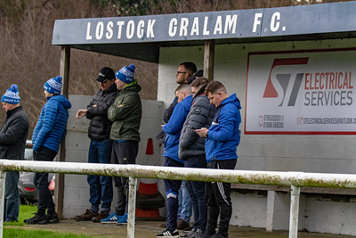 Lostock Gralam covered standing area