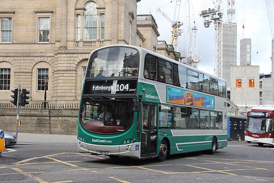 Lothian East Coast 20947 Princes Street Edinburgh Sep 19