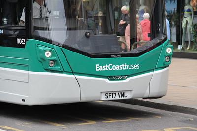 Lothian East Coast 10062 Princes Street Edinburgh 2 Jul 17