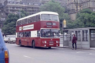 Lothian 545 Waverley Bridge Edinburgh Jun 82