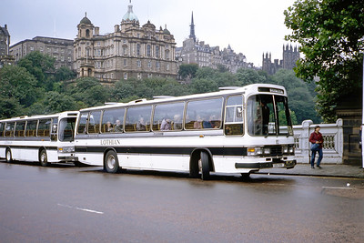 Lothian 53 Waverley Bridge Edinburgh Sep 83