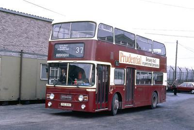 Lothian 647 Marine Depot Edinburgh Feb 86