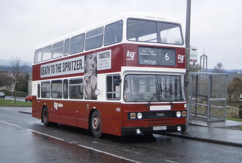 Lothian 693 Drum Brae Drive Edinburgh Dec 95