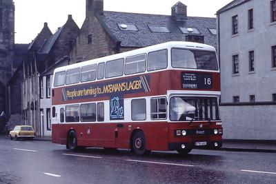 Lothian 753 Pier Place Newhaven Edinburgh Dec 85