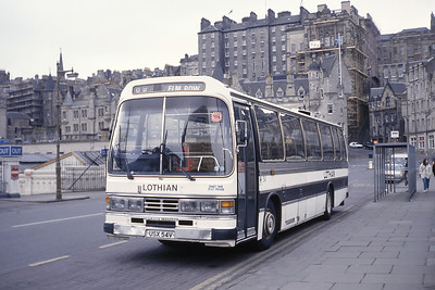 Lothian 54 Waverley Bridge Edinburgh Mar 93