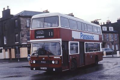 Lothian 757 Pier Place Newhaven Edinburgh Dec 85