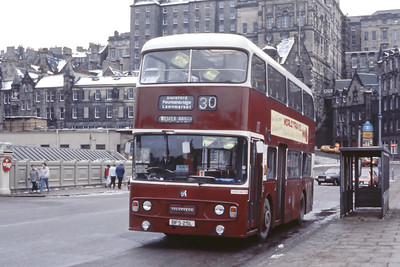 Lothian 25 Waverley Bridge Edinburgh Feb 86