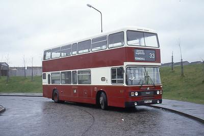 Lothian 687 Baberton Terminus Edinburgh May 83