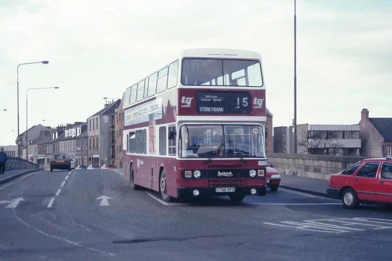 Lothian 780 Musselburgh Bridge Mar 95