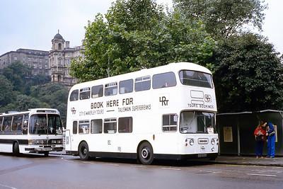 Lothian 806 Waverley Bridge Edinburgh Sep 83