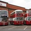 Lothian 555_Preserved 801_900 Central Depot Edinburgh Sep 16