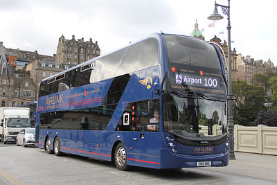 Lothian 1130 Waverley Bridge Edinburgh Sep 19