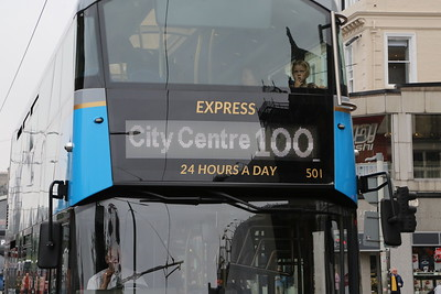 501 - back to City Centre instead of City. Hurrah...