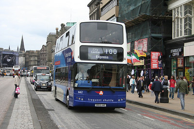 662 eastbound on Princes Street