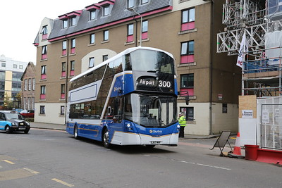 590 on the 'new' 300 at Fountainbridge