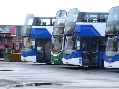 433, 434 and 436 with one of the previous previous Airlinks