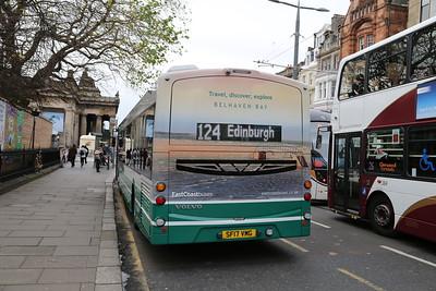 10058 rear advert for Belhaven Bay