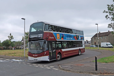468 at Pumpherston Turning Circle