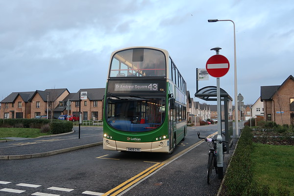 936 at Scotstoun terminus, South Queensferry