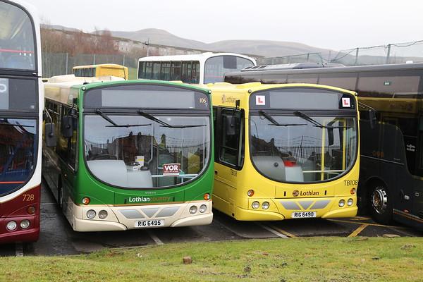 105 RIG6495 and TB108 RIG6490 both ex Arriva motors