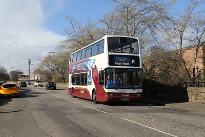 697 on West Granton Road is already rescreened for the return journey