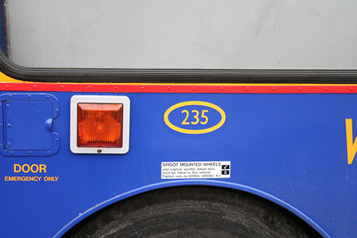 335 is now 235 to make room for new Geminis in the fleet number series