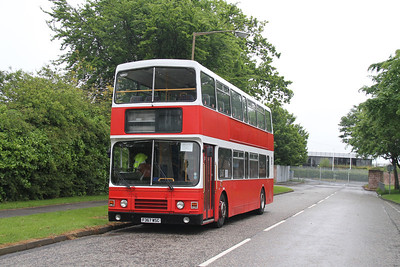F367WSC at Scotstoun providing the Bus and Boat shuttle to North Queensferry, the registered B&B not accommodating the current arrangements for the Boat bit and being unable to cross the bridge....