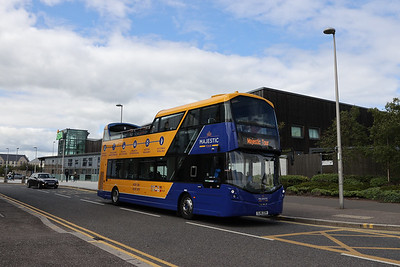 244 first day back for tours 11th July 2020 on her new bit of road along Melrose drive