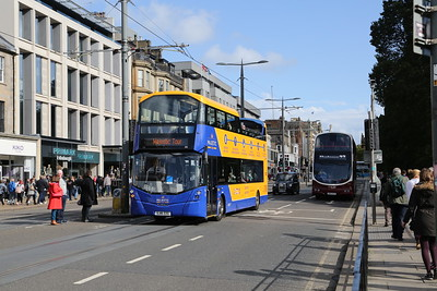 243 on the new route for the Majestic was a result of the closure of a section of George Street to through traffic