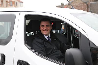 Dan the man in the electric van....