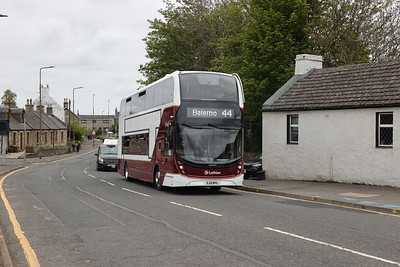 609 with the Riccarton Inn in the background 14th May 2021