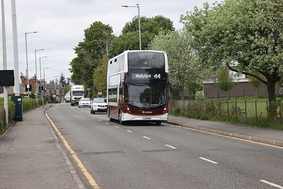 610 inbound on A70 towards Currie 14th May 2021