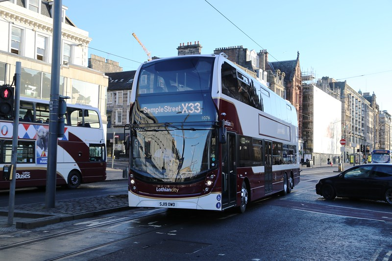 1076 on a Central rush job for Semple Street