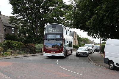 367 on Boswall Parkway 11th July 2020.  I thought Granton was the other way, mind you.