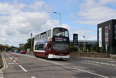 367 Part Route Leith Street on Crewe Road South 11th July 2020