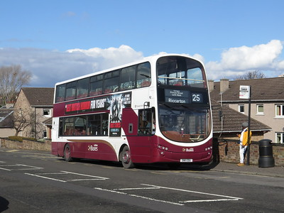 388 rests at Restalrig terminus