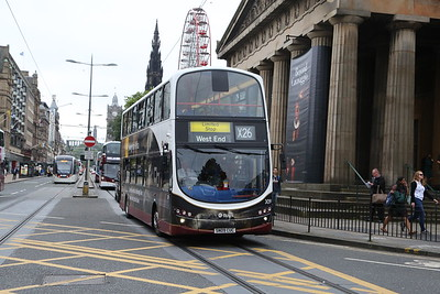 309 is probably at Central suggesting the X26 is not a Marine duty.   A new fleetofthefuture bus follows