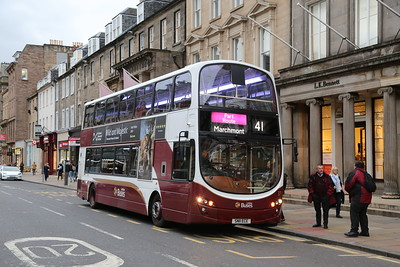 371 catches my eye as a Part Route Marchmont on George Street