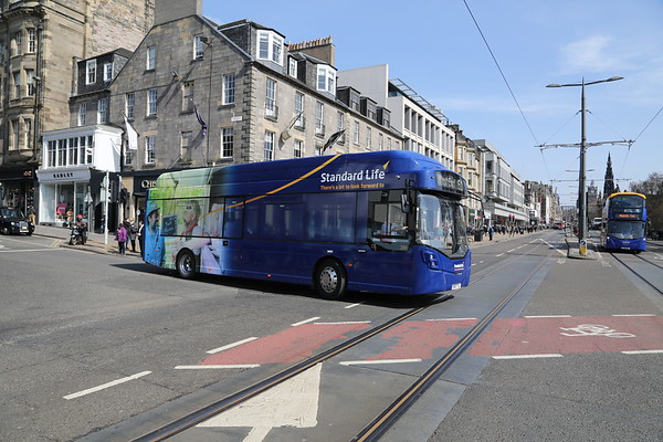 288 the new Standard Life bus