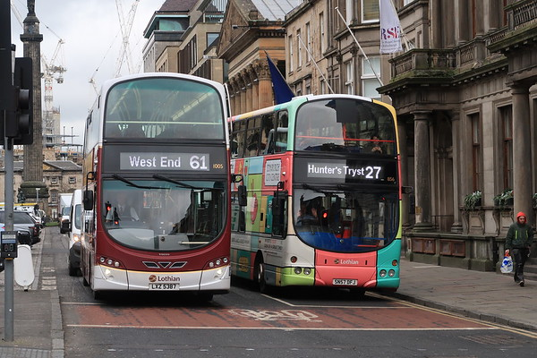856 and 1005 on diversion via George Street