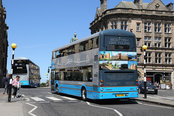 498 advertises Lothian Motorcoaches