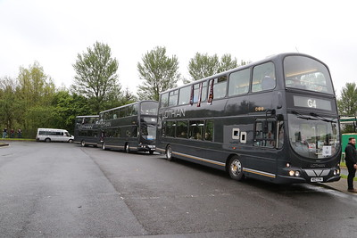 G4, G1 and G2 at Harthill.  I'm at the back with G2