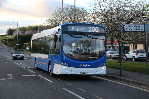 190 was most recently 10190 in the ECB fleet and is on Drum Brae