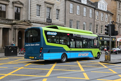 LK16 ETA is an all-electric Wrightbus demonstrator which I strongly suspect is off to Annandale Street.....