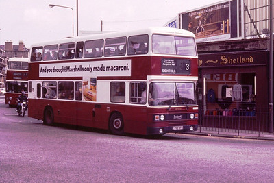 788 heads towards Dalry Road at Haymarket