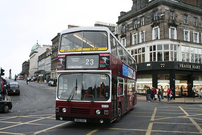 812 crosses Princes Street
