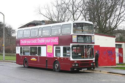 230 at Clermiston terminus