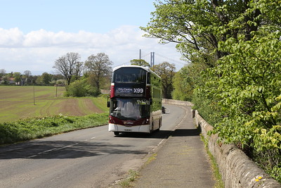 1052 out in the country alongside the Dalmeny Estate