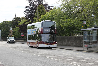 1052 outbound for Hawes Pier